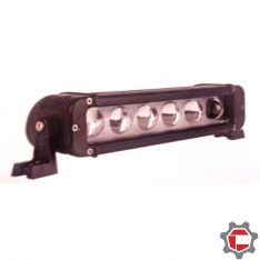 60 watt (6 10 watt bulb) LED Light Bar Projector Lens for Unimogs and G-Wagens