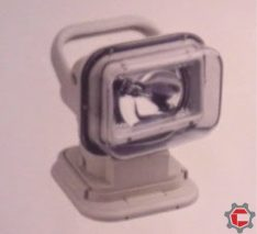 55W High Intensity Discharge Search Light for Unimog and Gwagen