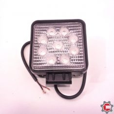 27W (9 3Watt) LED Work Light for Unimogs and Gwagens