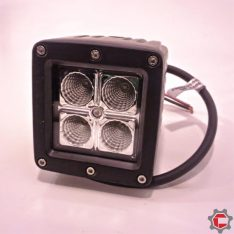 12W (4 3watt) Square LED Work light for Unimog and Gwagon
