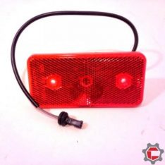 Rear side marker lamp assembly