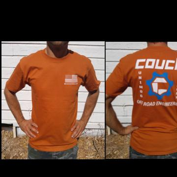 Mens T-Shirt Orange